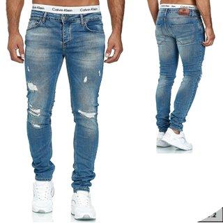 1001-1     Herren Jeanshosen Stretch Hose Jeans Slim fit SKINNY
