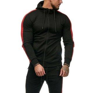 Herren hoodie  Sport    Pullover hoody Kapuzen Zip hoody  sweat-pullover