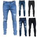 Herren Jeanshosen  Stretch Hose  Slim fit   SKINNY Jeans Blau  OMG Schwarz 2020
