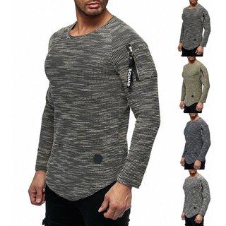 Herren Pullover Sweatershirt Strickjacke Sweatshirt Zip Pullover Jacke 2019