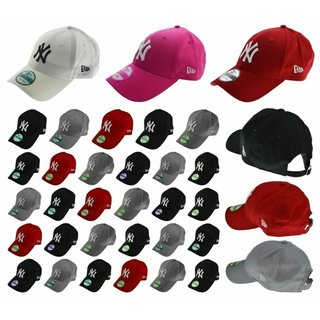 NEW ERA CAP 9FORTY NY  YANKEES DODGERS VIELE FARBEN Black Red Grey Adjustables