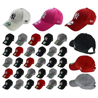 NEW ERA CAP 9FORTY NY  YANKEES DODGERS VIELE FARBEN Black Red Grey Adjustables.
