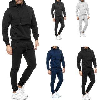 Trainingsanzug Sportanzug Jogginganzug  Trainings Hose Pullover Hoodfie