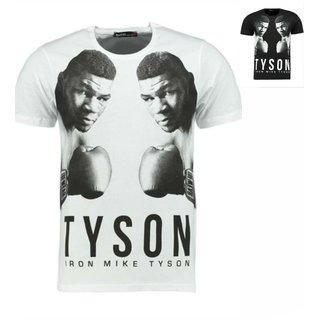 Herren Vintage T-Shirt Basic Shirt  MIKE TYSON  T-Shirt 9903