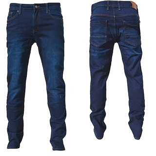 Jeans  Hose Denim stonewashed Pant Hose Slim fit   Herren BlackRock Neu