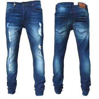 Jeans  Hose Denim stonewashed Pant Hose Slim fit skinny LAIKA