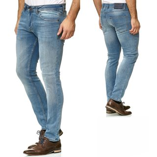 Jeans Hose Herren Basic Stretch Jeanshose  skinny fit  Slim fit 301