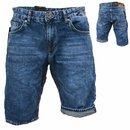 .Herren Bermuda Jeans Shorts Stretch Denim Kurze Capri Hose Sommer D59.  D135