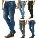 .iProfash Herren Bermuda Jeans Shorts Stretch Denim Kurze...