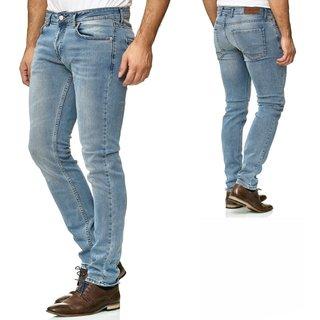 Designer Herren Jeans Hose Regular Slim Fit Used Jeanshose Stretch