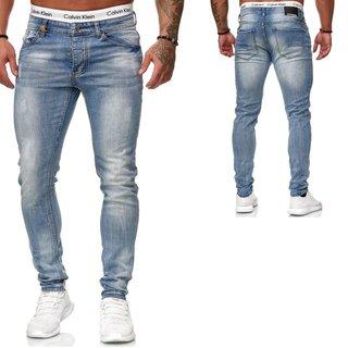 Herren  JEANS  Stretch Hose  pants Sweat SUPER SKINNY Jeanshosen OMG 5045 K509