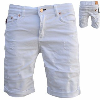 Herren Bermuda Jeans Shorts Stretch Denim Kurze Capri Hose Sommer. 81954