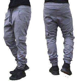 Herren Cargo Jogger Chino Stretch Hose Jogg Jeans Sweatpants Sweathose 2 - 520