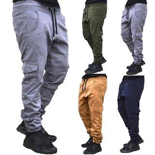 Herren Cargo Jogger Chino Stretch Hose Jogg Jeans Sweatpants Sweathose 3001. Neu