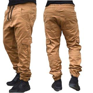 Herren Cargo Jogger Chino Stretch Hose Jogg Jeans Sweatpants Sweathose 5 - 520