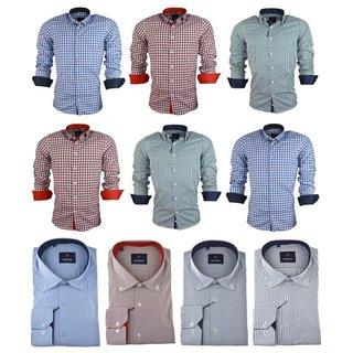 Herren Hemd Business Hochzeit Freizeit SlimFit MEHRERE Blazer  Shirt Jacket