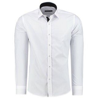 Herren Hemd Hemden Bügelleicht Business Hochzeit Freizeit Slim Fit Übergrößen ne