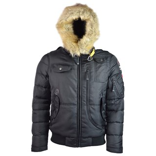 Herren Herbst Winterjacke Outdoor Winterjacke Funktionsjacke Gr. S-XL 1805  2020 XL Black