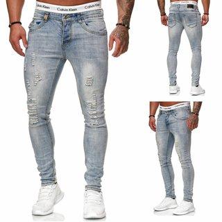 Herren Jeanshose Slim Fit Jeans Super Skinny Jeans Stretch NEU 5051 neu