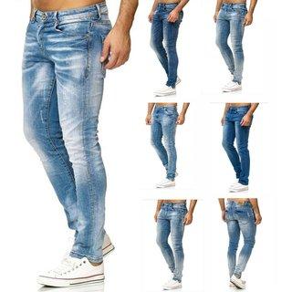 Herren Jeanshosen  Stretch Hose  Jeans  Slim fit  SUPER SKINNY Jeans  iProfash