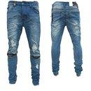Herren Jeanshosen  Stretch Hose  Jeans  Slim fit  SUPER SKINNY Jeans  OM  BL