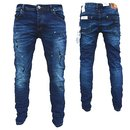 Herren Jeanshosen  Stretch Hose  Jeans  Slim fit  SUPER SKINNY Jeans OMG 13330 B
