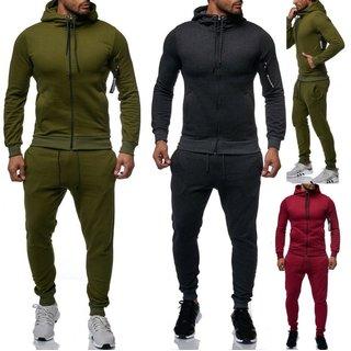 Herren Jogging Anzug Trainingsanzug Sweatshirt Hose Sportanzug . M L XL -3XL 4XL