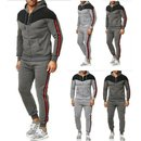 Herren Jogginganzug Trainingsanzug Sweatjacke...