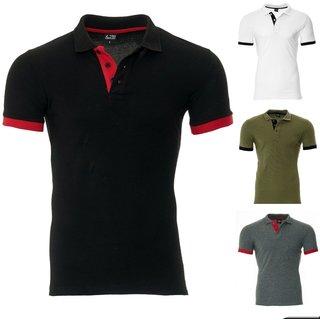 Herren Poloshirt Slim Fit Hemd Kurzarm T-Shirt S-XXL -2020 shirt