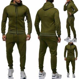 Herren Trainningazug  Jogginganzug Jogging  Jacke Sportanzug  Anzug Hoodie 0964