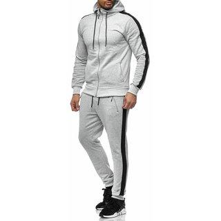 Sportanzug   Jogginghose Schwarz Pullover Jogginganzug Grau Camo