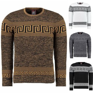 Strickpullover Pullover Sweater Sweatshirt Pulli Herren   Herbst Winter