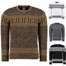 Strickpullover Pullover Sweater Sweatshirt Pulli Herren...