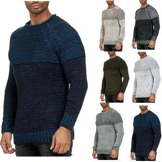 Strickpullover Pullover Sweater Sweatshirt Pulli Herren  Herbst Winter Artnr 202