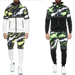Herren Jogginganzug Trainingsanzug Sportanzug Fitness Streetwear   YE-211
