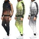 Herren Jogginganzug Trainingsanzug Sportanzug Fitness Streetwear   YE-202