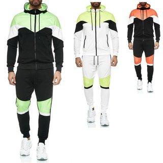 Herren Trainingsanzug Jogginganzug Fitnessanzug Sportanzug Hoodie Hose  YE-208