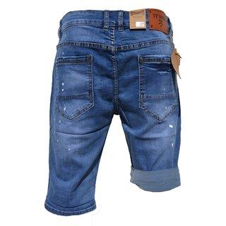 Bermuda Herren Shorts Jeans-Bermuda Kurze Hose Capri Sommer Jeans  D39