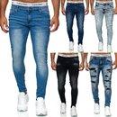 Herren Jeanshosen Stretch Hose Jeans Slim fit SUPER SKINNY Jeans 8307