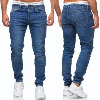 Herren Jeans Hose Basic Stretch Jeanshose Regular Skinny  Slim NEU