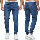 Herren Jeans Hose Basic Stretch Jeanshose Regular Skinny...