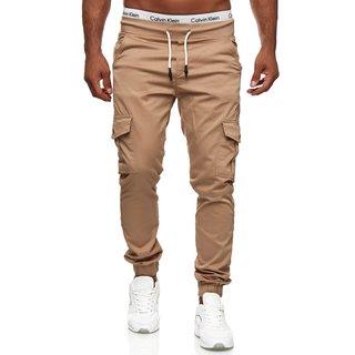 Cargohose herren Chino Stretch Cargo Hose Jogger Jeans Sweathose Basic