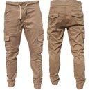 Cargohose herren Chino Stretch Cargo Hose Jogger Jeans...