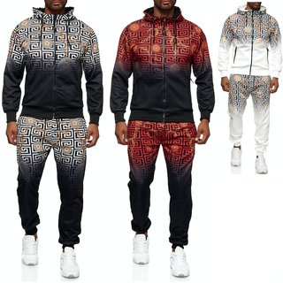 Herren Jogginganzug Trainingsanzug Sportanzug Fitness Streetwear    2021