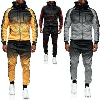 Herren Jogginganzug Trainingsanzug Sportanzug Fitness Streetwear NEA- 18