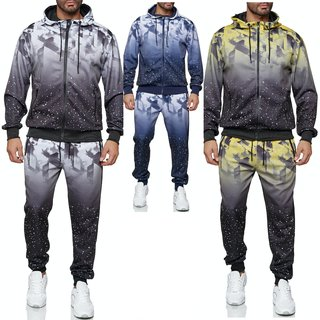 Herren Jogginganzug Trainingsanzug Sportanzug Fitness Streetwear IMO §