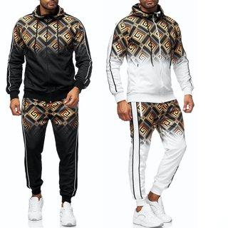 Herren Jogginganzug Trainingsanzug Sportanzug Fitness Streetwear  1560