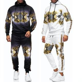 Herren Jogginganzug Trainingsanzug Sportanzug Fitness Streetwear   1547