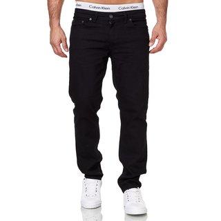 Herren Hose Jeans Slim Fit Regular Stretch Jeanshose Übergröße Hosen