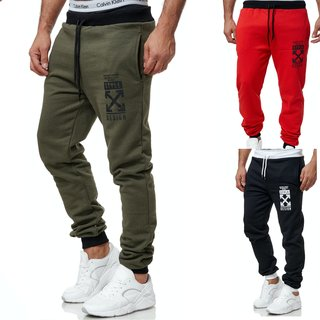 Herren Jogginghose Sporthose Männer Trainingshose Sweatpants neu 9416 X